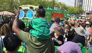 This was going to be the annual issue to celebrate Hal's St. Paddy's Parade but things have changed quickly. Photo courtesy Kristin Brenemen