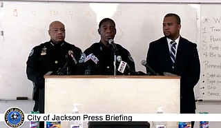 On March 19, the Jackson Police Department announced two recent drug arrests. Later that day, Officer Sam Brown said that while the JPD was taking sanitary precautions to protect on-duty officers amid the COVID-19 outbreak, the department would not make changes to its arrest policy. Courtesy City of Jackson