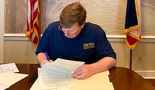 Mississippi Gov. Tate Reeves announced Friday that he is postponing the March 31 Republican primary runoff in the state's 2nd Congressional District because of the coronavirus. The new date is June 23. Photo courtesy State of Mississippi