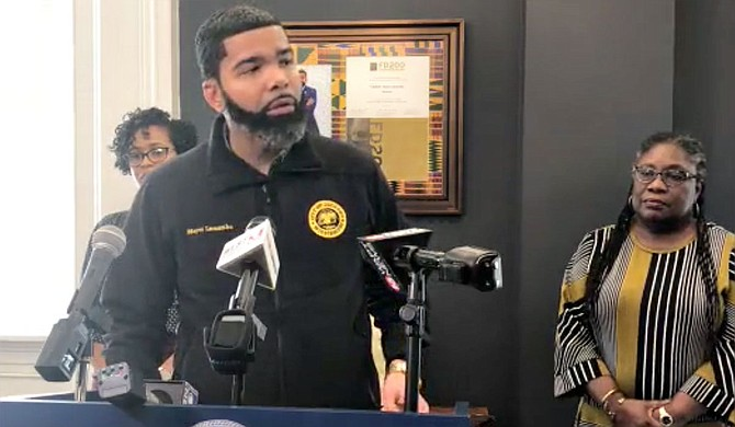 Mayor Chokwe A. Lumumba reiterated to Jackson residents Thursday that the City of Jackson's ban on gatherings of 10 or more people and limitations on local restaurant operations, as part of efforts to curb the spread of COVID-19, are still in place. Stock photo courtesy City of Jackson.