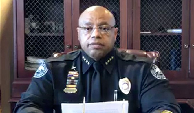 Jackson Police Department officer has tested positive for COVID-19, Jackson Police Department Chief James E. Davis confirmed during a March 27 press conference. Courtesy of the City of Jackson. Photo courtesy Jackson Police Department.