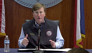 Gov. Tate Reeves is using COVID-19 to play politics with Mississippians' lives, only invoking the Constitution when it serves the political interests of his voter base. Photo courtesy State of Mississippi.