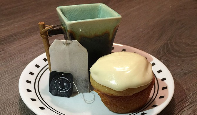 Enjoy a spot of tea with your tea-infused cupcakes. Photo by Nate Schumann
