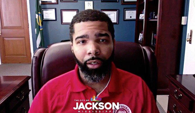 In a video released Friday, Mayor Chokwe Antar Lumumba called for a repeal of Mississippi's Open Carry Law, citing that the law makes it impossible for police to remove illegal guns from Jackson's streets and stokes an environment of fear and intimidation. Photo courtesy City of Jackson