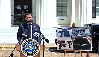 Columnist Adofo Minka argues that Mayor Chokwe Lumumba's recent open-carry gun ban in Jackson will disproportionately disarm black Jacksonians, even as a black-run police department harasses and kills fellow citizens often without consequences. Photo courtesy City of Jackson