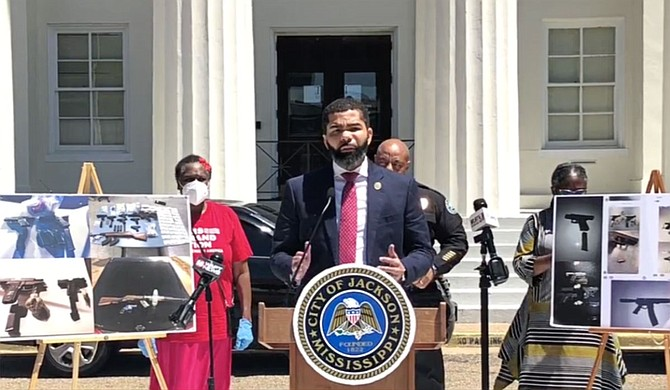 On April 30, Mayor Chokwe A. Lumumba announced that he is extending the City of Jackson's shelter-in-place order to May 15. Photo courtesy City of Jackson