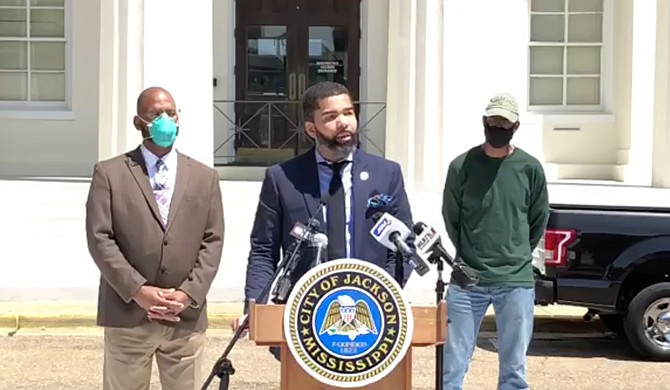 On April 27, 2020, Mayor Chokwe A. Lumumba announced that the City of Jackson had filed a lawsuit against Canadian National Railway over a blocked railroad underpass in west Jackson. The City is demanding that the railroad company pay for and reopen the underpass after the company closed it in 2016. Photo courtesy City of Jackson