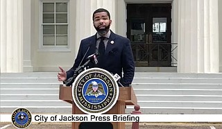 Mayor Chokwe Antar Lumumba is slowly re-opening the Capital City following months of lockdown due to COVID-19, while acknowledging that data does not yet reflect that Jackson or the State of Mississippi has experienced a decline in the rate of new COVID-19 cases. Photo courtesy City of Jackson
