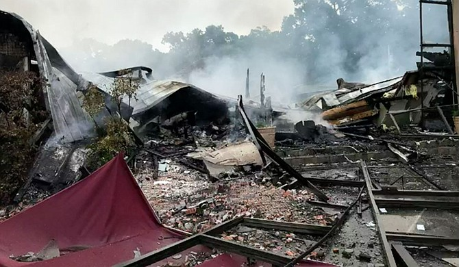 A church in Mississippi was destroyed by a suspected arson fire, about a month after its pastor filed a lawsuit challenging the city of Holly Springs on gathering restrictions amid the coronavirus outbreak. Photo courtesy WMC/Holly Springs Fire Department