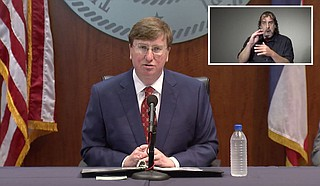 Mississippi Gov. Tate Reeves said Wednesday that he is signing a bill that creates a $300 million grant program for small businesses hurt by the coronavirus pandemic. Photo courtesy State of Mississippi