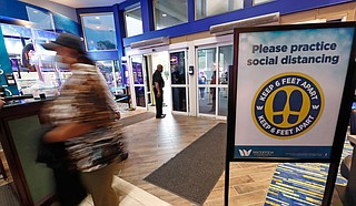 Some casinos in Mississippi reopened Thursday for the first time in two months, following state guidelines to try to mitigate the spread of the new coronavirus. Photo by Rogelio V. Solis via AP
