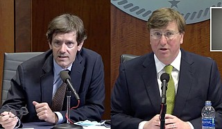 State Health Officer Dr. Thomas Dobbs clearly dances a tightrope between science and the politics of his employer, Gov. Tate Reeves. Photo courtesy State of Mississippi