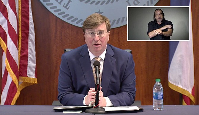 """Three days before Gov. Tate Reeves' """"Safe Return"""" order allows Mississippi to open up widely, including congregating in groups, Mississippi saw its highest single-day total of COVID-19 cases on Thursday, May 29. Photo courtesy State of Mississippi"""