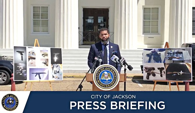 Jackson Mayor Chokwe Antar Lumumba had issued an executive order in April temporarily banning the open carry of firearms in Jackson during a coronavirus stay-at-home order for the city, citing a state statute allowing him to enforce safety rules during a public emergency. Rep. Dana Criswell, a Republican, challenged the ban in court. Photo courtesy City of Jackson