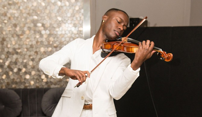 John Uzodinma II regularly performs in the Jackson metro and beyond. Photo courtesy D'Artagnan Winford and Candace Harris