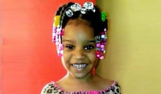 Queenyanna Davis would have been 6 years old on June 23, but she was murdered. She attended Watkins Elementary School in Jackson. Photo courtesy Davis Family