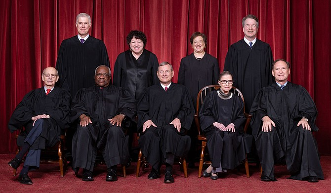 The Supreme Court on Monday struck down a Louisiana law regulating abortion clinics, reasserting a commitment to abortion rights over fierce opposition from dissenting conservative justices in the first big abortion case of the Trump era. Photo courtesy Fred Schilling/Collection of the Supreme Court of the United States