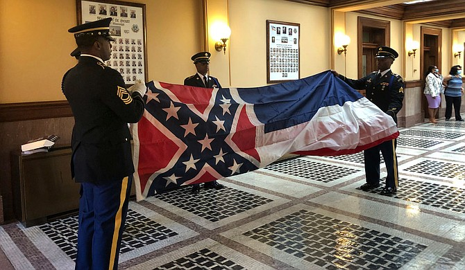Mississippi just ditched its Confederate-themed state flag. Later this year, the state's voters will decide whether to dump a statewide election process that dates to the Jim Crow era. Photo by Emily Wagster Pettus via AP