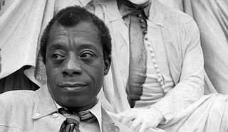 "Writer James Baldwin said ""the story of the negro in America is the story of America. It is not a pretty story."" To Clay Morris of Jackson, a sophomore at the University of North Carolina at Chapel Hill, America's story has always not been ""pretty"" for Black Americans but is only just becoming so for white Americans. Photo courtesy Allan Warren"