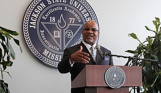 A Mississippi judge has found Jackson State University's former president guilty of misdemeanor charges related to a prostitution sting. Photo by Arielle Dreher