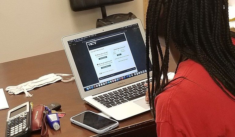 Jackson Education Support provides safe one-on-one and online learning services. Photo courtesy Jillian Smart
