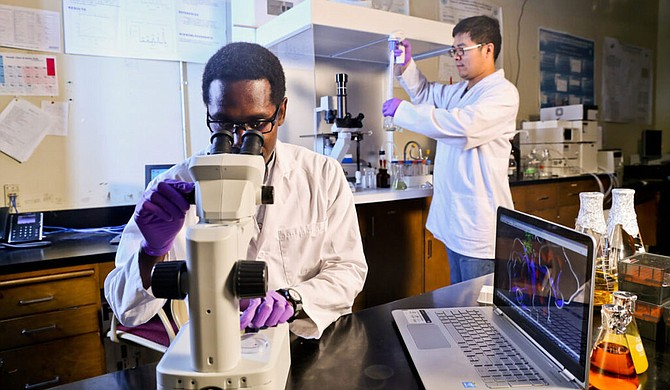 Jackson State University is partnering with the University of Kentucky and national startup accelerator XLerateHealth to launch a program that will help commercialize human health-focused ideas from historically black colleges and universities. Photo courtesy Charles A. Smith/JSU