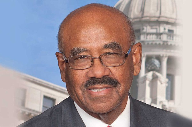Hinds County Board of Supervisors Vice President Credell Calhoun, a former legislator, said something needs to be done to get the formerly incarcerated back to work. Photo courtesy Mississippi House of Representatives