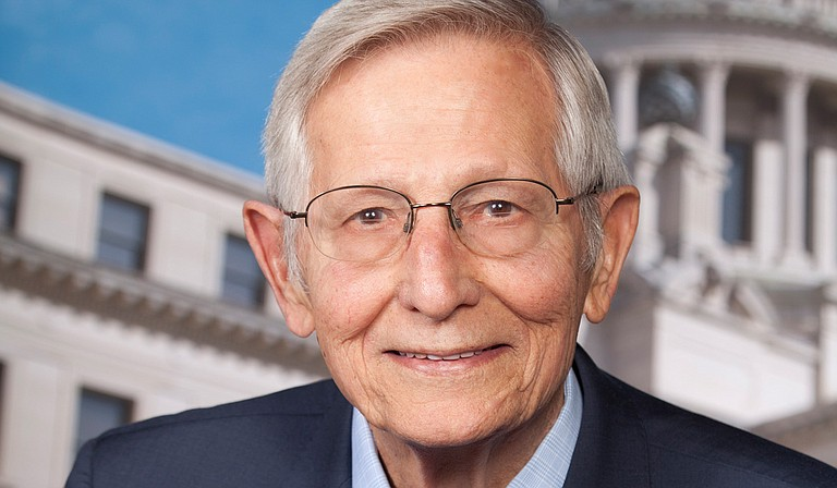 Former Mississippi state Sen. Bob M. Dearing of Natchez, who worked to expand highways, legalize casino gambling and strengthen laws against animal cruelty, died Thursday at home, a funeral home said. He was 85. Photo courtesy Mississippi Senate