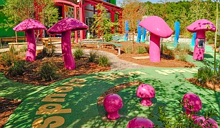 Mississippi Children's Museum's Gertrude C. Ford Literacy Garden File Photo by Trip Burns
