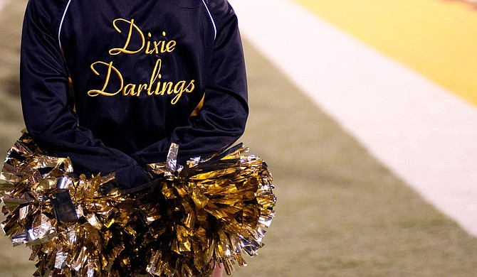 """The University of Southern Mississippi's marching band, The Pride of Mississippi, announced last month that it would look to select a new name for its dancers, the """"Dixie Darlings,"""" who have held the nickname since 1954. Photo courtesy USM Dixie Darlings"""