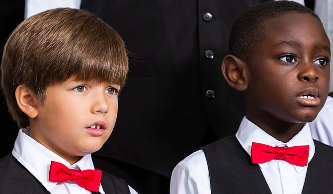 The Mississippi Boychoir hones the vocal skills of youths grades 5 through 12. Photo courtesy Mississippi Boychoir