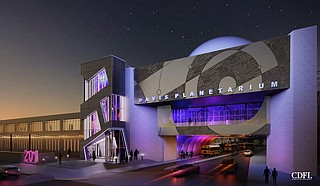 Jackson Mayor Chokwe Antar Lumumba announced renovations to the Russell C. Planetarium in July. The planetarium is presently set to reopen by April 2022. Photo courtesy CDFL Architects