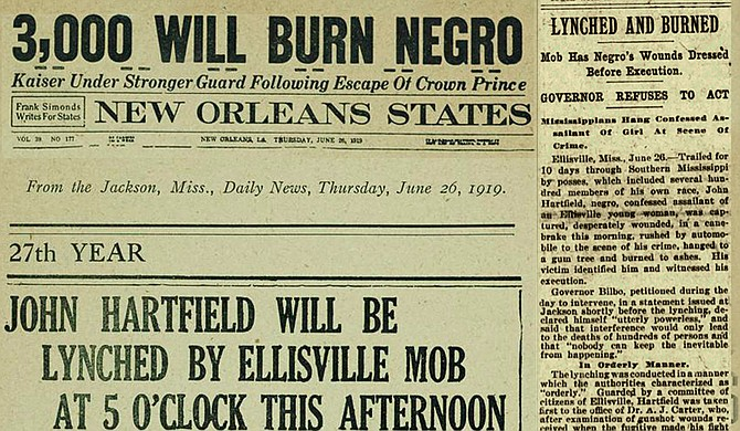 EDITOR'S NOTE: No More 'Lynching Logic' to Excuse Brutality Against Black  People | Jackson Free Press | Jackson, MS