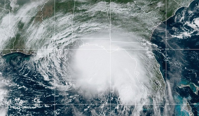 Storm-weary Gulf Coast residents rushed to finish last-minute preparations Monday as Hurricane Sally chugged slowly through warm Gulf waters. Forecasters said the biggest threat is flooding, with as much as two feet of rain falling in some areas. Photo courtesy MEMA
