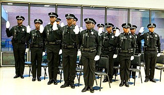 Jackson police officers, pictured here at the JPD 58th Police Recruit Graduation will earn more competitive salaries in the 2020-2021 financial year. Photo courtesy Jackson Police Department