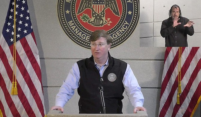 Today, Governor Tate Reeves announced that he is extending the social distancing measures under the Safe Return order with a few amendments relaxing restrictions as Mississippi flattens the curve on new COVID-19 cases. Photo courtesy State of Mississippi