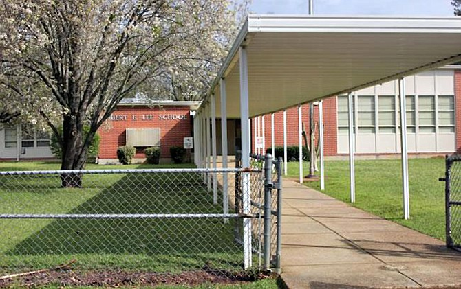 Lee Elementary, a majority-Black school in Mississippi, is one step closer to being renamed for a Black leader or activist rather than a Confederate general. Photo courtesy JPS