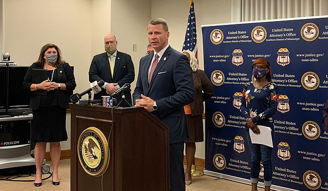 Mississippi's capital city says it plans to work with the U.S. Department of Justice to help fight crime. Jackson City Council President Aaron Banks says U.S. Attorney Mike Hurst extended an offer to work with local law enforcement to reduce crime. Photo courtesy U.S. Attorney Mike Hurst