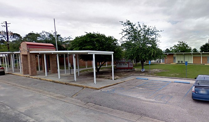 Confederate President Jefferson Davis's name will be removed from a school in the city where he his final years on the Mississippi Gulf Coast. Photo courtesy Google Maps