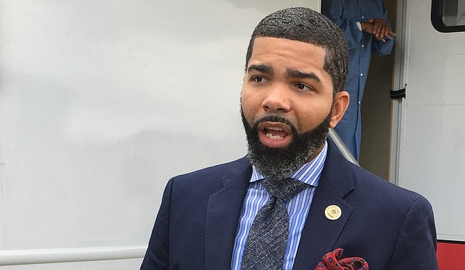"""Mayor Chokwe A. Lumumba says United States Attorney for the Southern District of Mississippi Michael Hurst never reached out to him to talk about """"Operation Legend,"""" a plan to bring federal officers into Jackson. Photo by Kayode Crown"""
