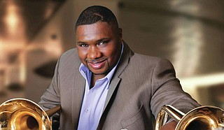 Brass faculty at the University of Southern Mississippi will partner with virtuoso trombonist Wycliffe Gordon to conduct a live streaming event on Oct. 29 at 1 p.m. Courtesy USM