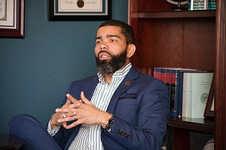 Mayor Chokwe A. Lumumba said that a new rental-assistance program, with the City working with the Salvation Army, will help many families affected economically by the COVID-19 pandemic. File Photo by Stephen Wilson