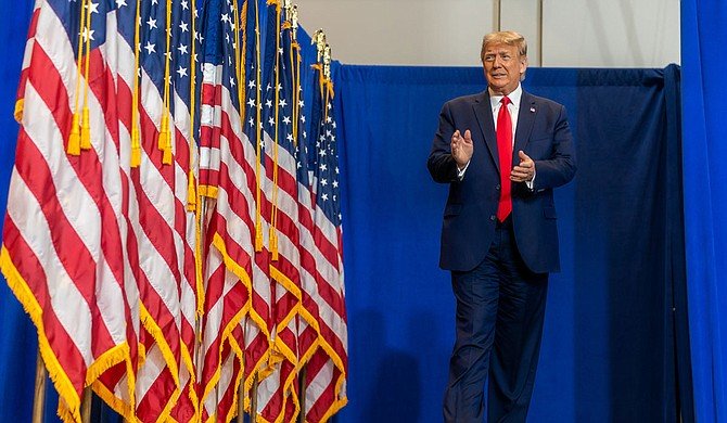 President Donald Trump's campaign is telling a Mississippi group to stop saying that Trump supports a ballot measure that would legalize medical marijuana in the state. Official White House Photo by Shealah Craighead