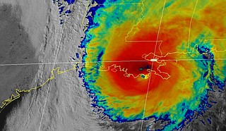 Hurricane Zeta sped toward storm-weary Louisiana on Wednesday with New Orleans squarely in its path, threatening to push up to 9 feet of sea water inland and batter homes and businesses with fierce winds. Photo courtesy NOAA