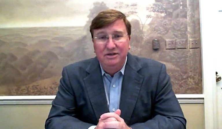 Gov. Tate Reeves signaled today that he would refuse to participate in a nationwide lockdown if the incoming Joe Biden administration called for such a measure, promising instead defiance and a repeat of late 2020's approach to containment of the virus. Photo courtesy Tate Reeves