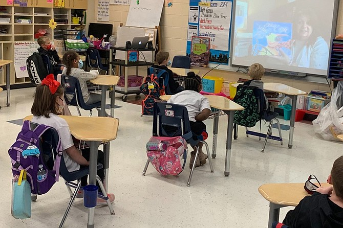 Mass transmission of COVID-19 is affecting in-person schooling across Mississippi. But positive vaccine news continues to arrive. Photo courtesy Rankin County School District