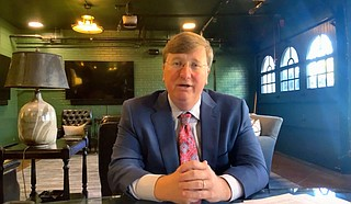 Mississippi Gov. Tate Reeves said Monday that the state should phase out its individual income tax by 2030 to attract new residents and businesses that could boost economic growth. Photo courtesy State of Mississippi