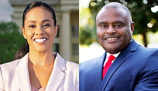 After none of the Ward 2 special election candidates drew a majority of votes yesterday, the two with the highest number, Angelique Lee and Tyrone Lewis, will compete in the Dec. 8 runoff. Photo courtesy Angelique Lee, Tyrone Lewis