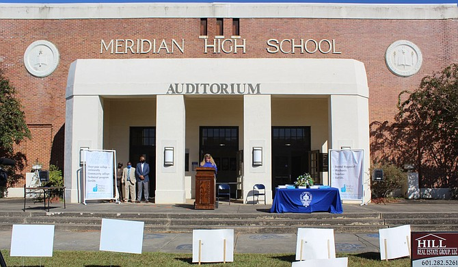 Meridian public schools are moving to online learning Wednesday after an increase in cases of COVID-19 in Lauderdale County and in the school system, according to superintendent Amy Carter. Photo courtesy Medidian Public Schools