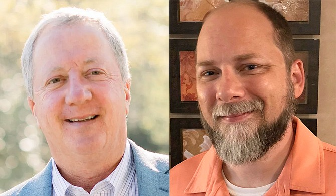 """Joseph """"Bubba"""" Tubb (left) of Lamar County and Matthew Conoly (right) of Hattiesburg are running in District 87 in parts of Forrest and Lamar counties. Photos courtesy Joseph Tubb and Matthew Conoly"""